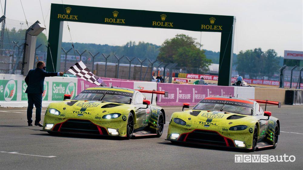 Vittoria Aston Martin nelle categoria LMGTE Pro e LMGTE Am 24 Ore di Le Mans 2020