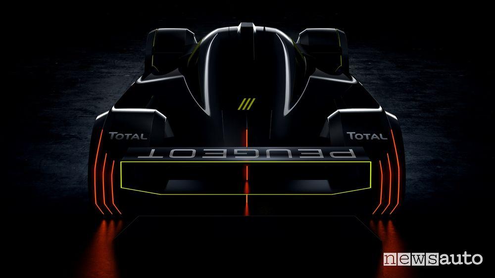 Hypercar Peugeot Le Mans 2022
