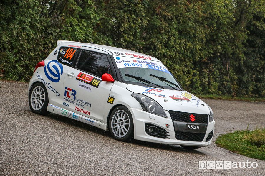 Rally Rue Vally Suzuki Rally Cup e R1