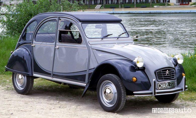 Citroën 2 CV Charleston bicolore Grigio Nocturne