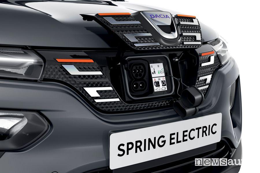 Sportellino per la ricarica Dacia Spring Electric