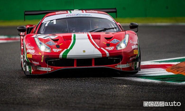 Gare Gran Turismo GT3 e GT4 a Monza, risultati e foto