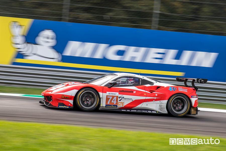 ELMS 4 Ore di Monza 2020 Ferrari 488GTE Team Kessel (vincitori classe GTE)