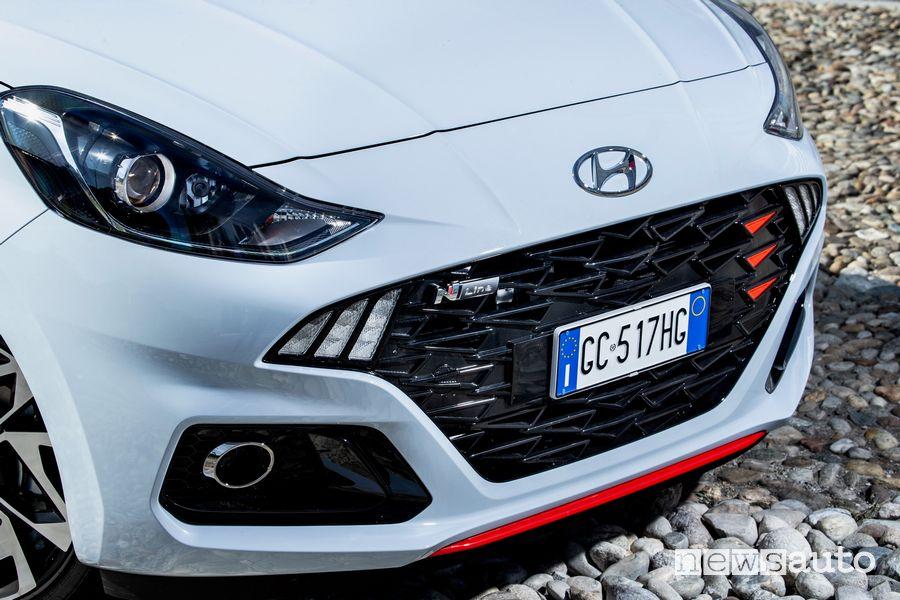 Griglia anteriore Hyundai i10 N Line