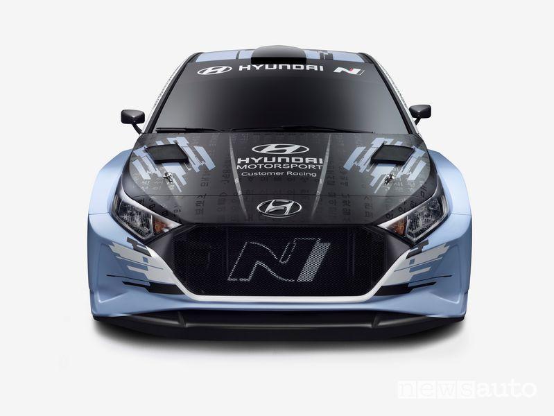 Frontale Hyundai i20 N Rally2