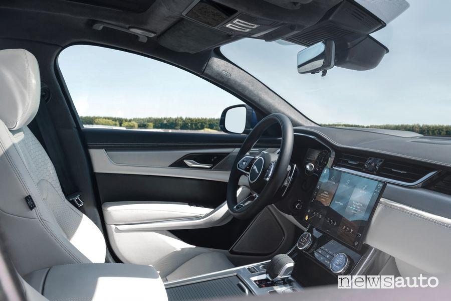 Plancia strumenti abitacolo nuova Jaguar XF