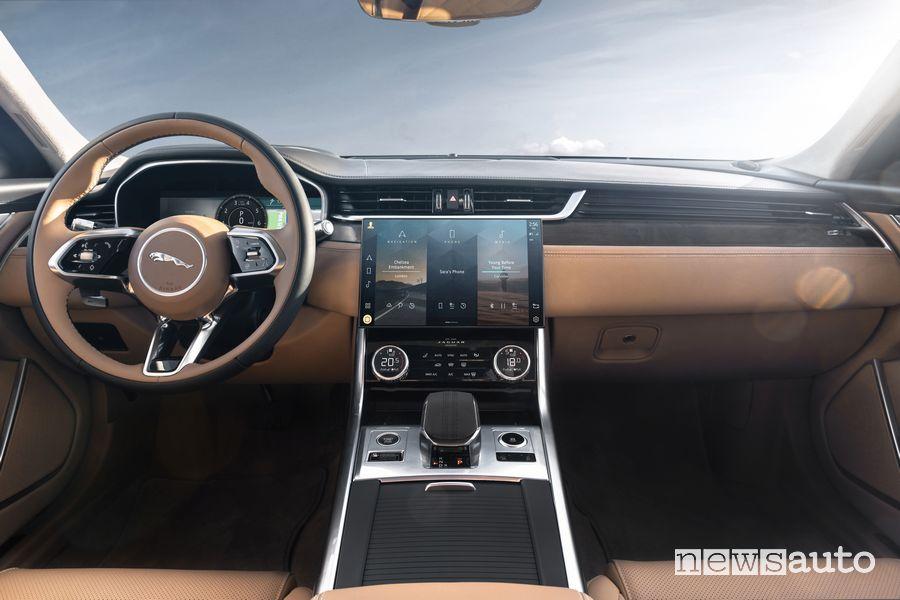 Plancia strumenti abitacolo Jaguar XF Sportbrake