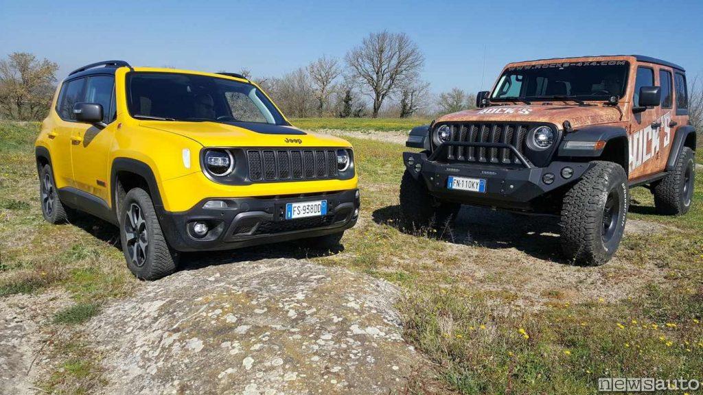 Jeep Renegade vs Jeep Wrangler Rubicon
