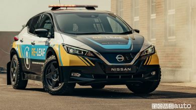 Photo of Corrente 230 volt dalla batteria dell'auto elettrica, arriva la Nissan Re-Leaf