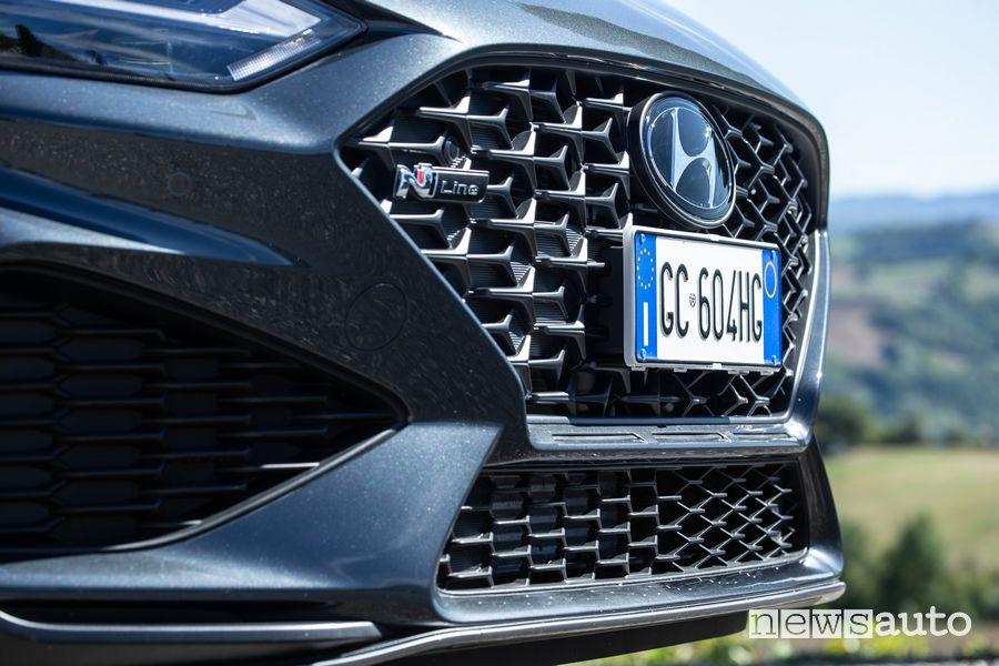 Mascherina anteriore nuova Hyundai i30 N Line