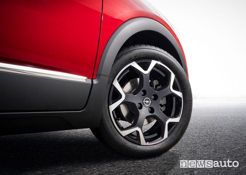Cerchi in lega nuovo Opel Crossland GS Line