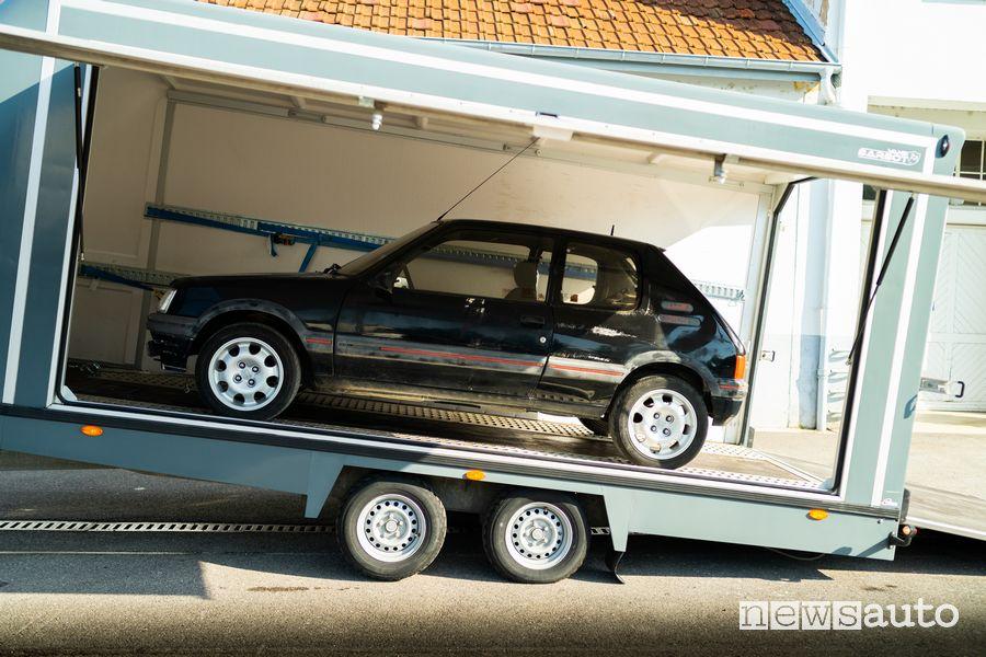 Peugeot 205 GTI al termine del restauro
