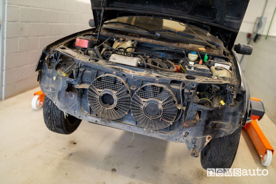Ventole radiatori restauro Peugeot 205 GTI