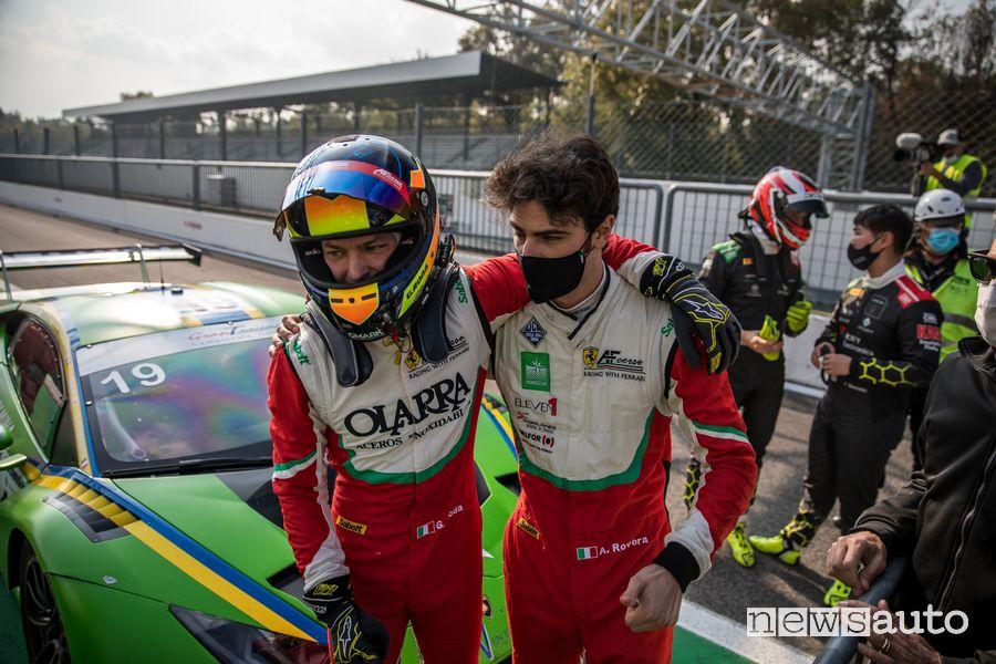 Roda Rovera vincitori Gara 2 Campionato Italiano Gran Turismo Sprint a Monza