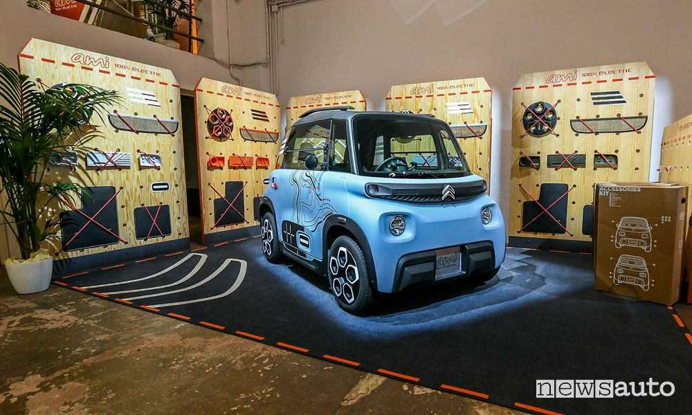 Citroën Ami Vibe alla Milano Design City 2020