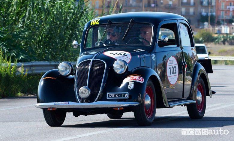 Targa Florio Classica 2020, programma e iscritti