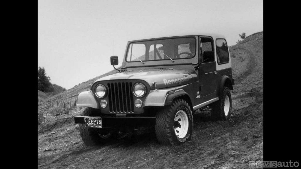 Jeep Renegade 1978  (fuoristrada storico, auto storica)