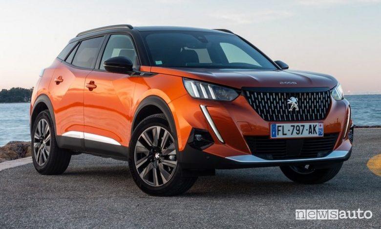 Peugeot 2008, nuova gamma e prezzi
