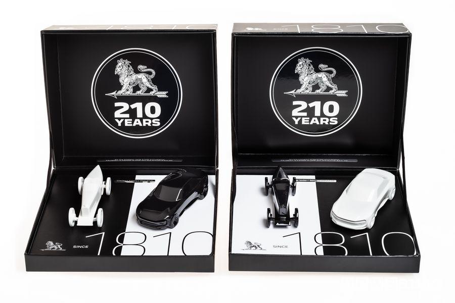 Modellini Peugeot in scala 1/43 da collezione