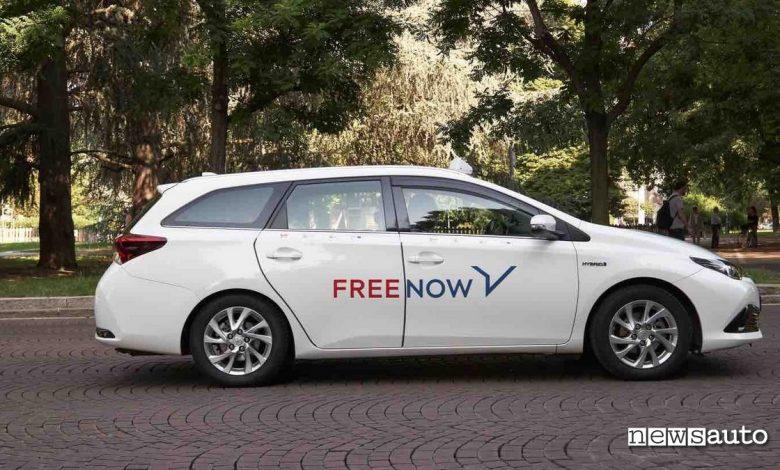 sanzione radiotaxi napoli free now