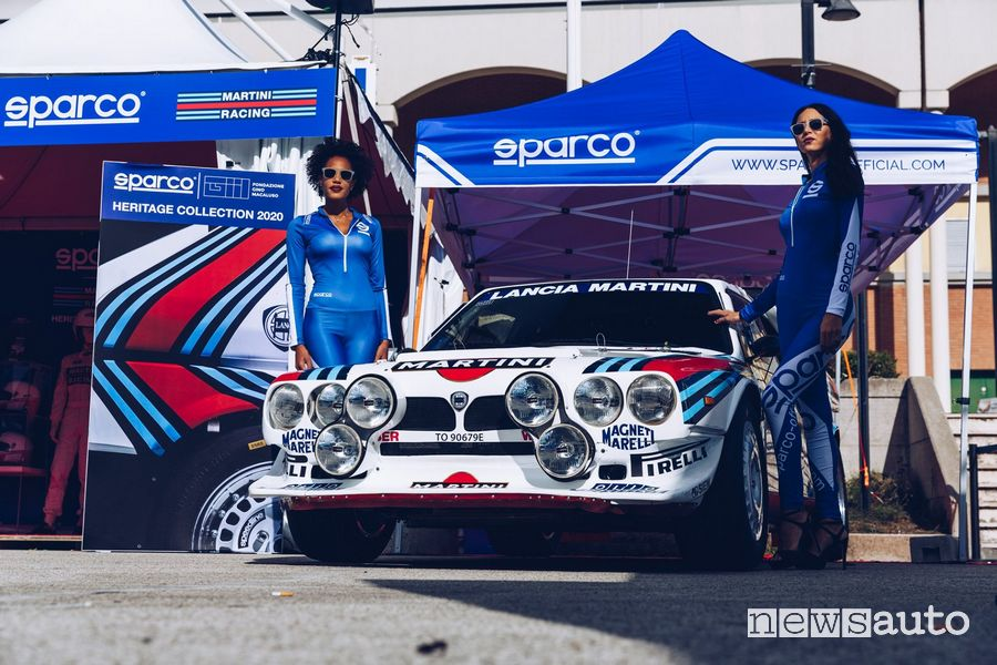 Sparco Martini Racing Heritage Collection al Rallylegend