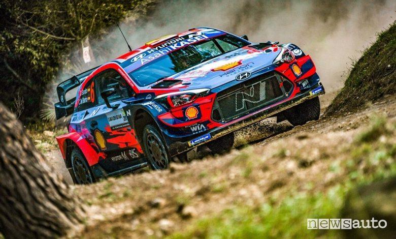 WRC Rally Italia Sardegna 2020, vittoria Hyundai
