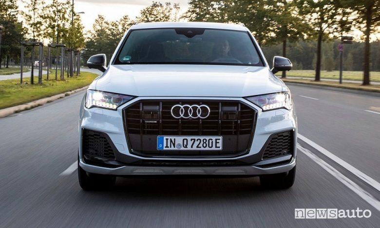 Audi Q7 SUV ibrido plug-in, caratteristiche e prezzi