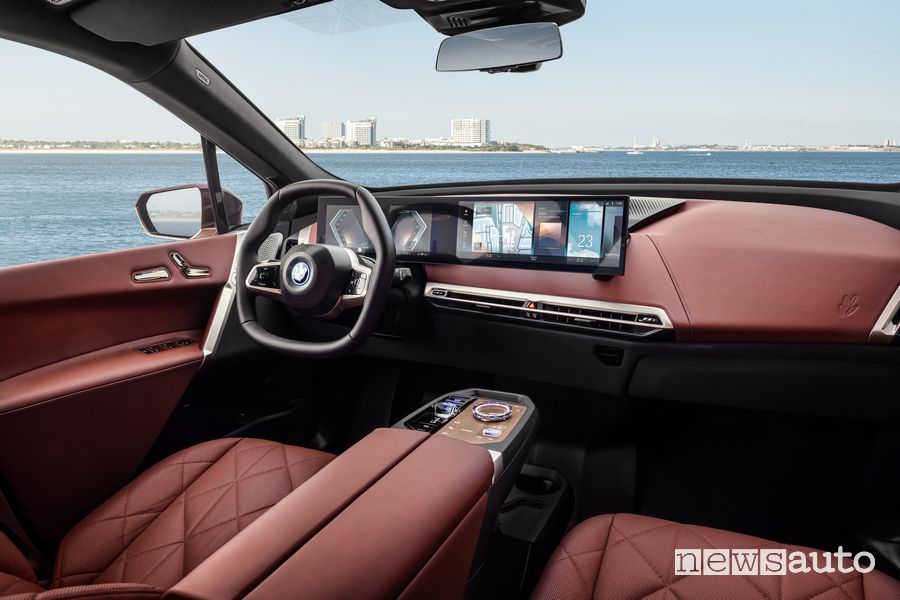 Plancia strumenti abitacolo BMW iX