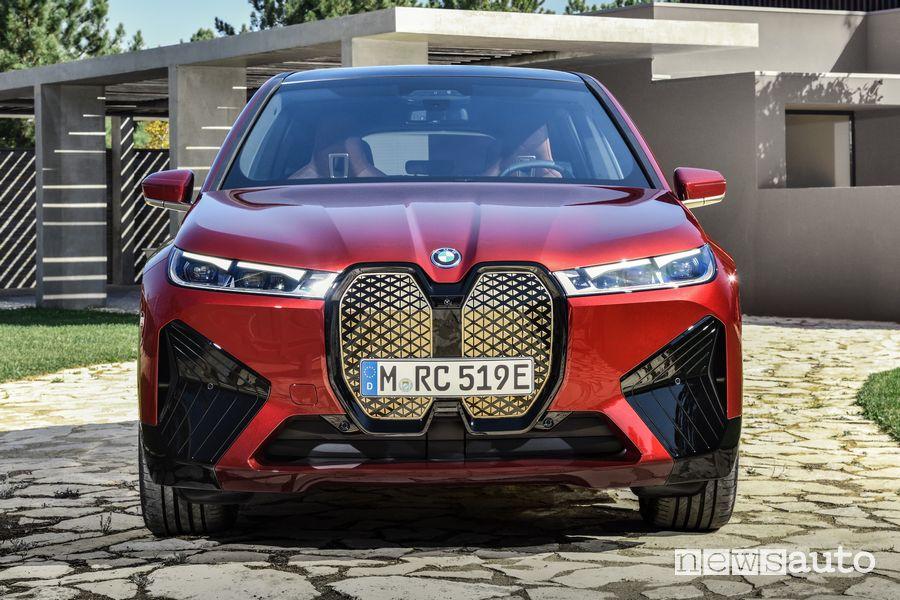 Frontale BMW iX