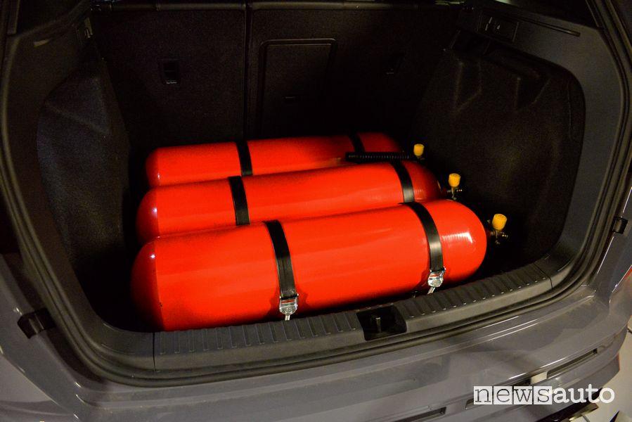 Serbatoi metano Cupra Ateca Limited Edition dual fuel benzina metano