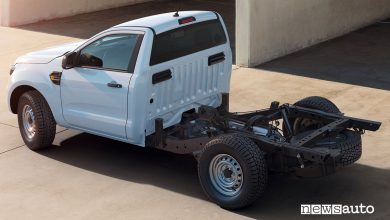 "Photo of Ford Ranger c'è anche ""chassis cab"" 4×4"