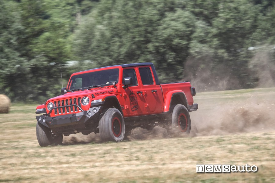 Guida fuoristrada Jeep Rubicon Gladiator JT