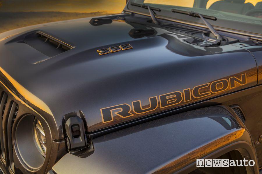 Presa d'aria cofano anteriore Jeep Wrangler Rubicon 392 con Jeep Performance Parts