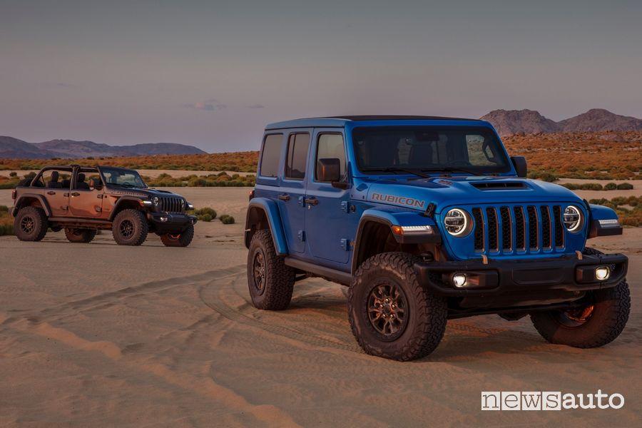 Nuovo Jeep Wrangler Rubicon 392