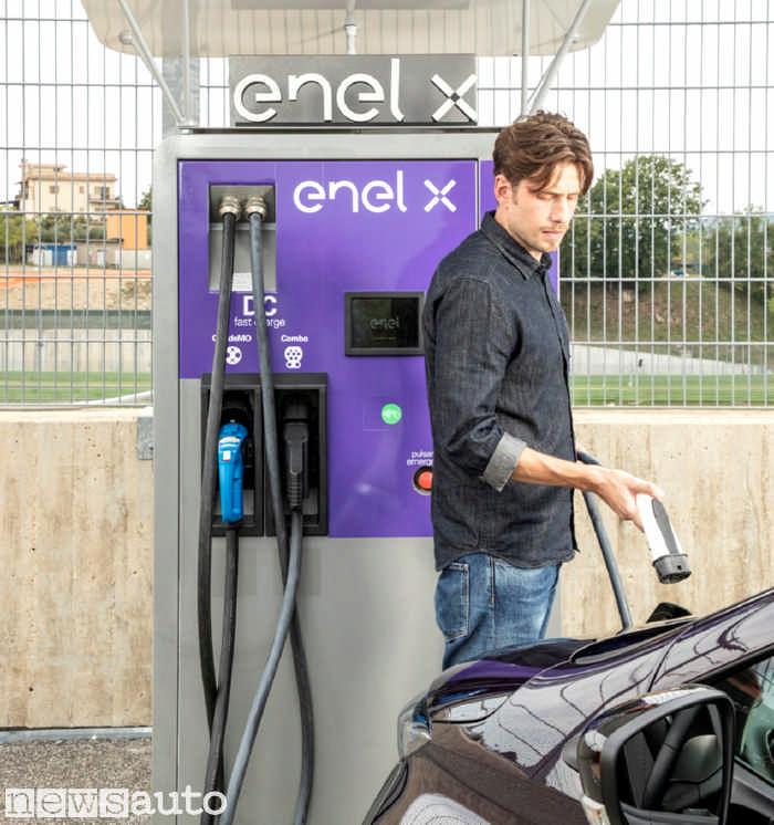JuicePump la colonnina Fast di Enel X