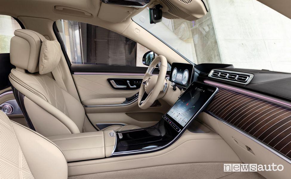Sedili anteriori abitacolo Mercedes-Maybach Classe S