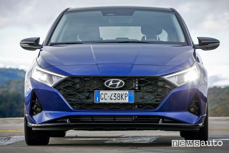 Frontale nuova Hyundai i20