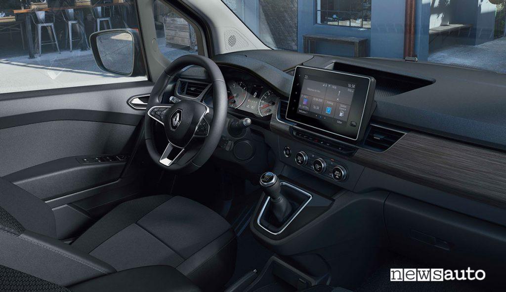 Nuovo Renault Kangoo Van 2021 plancia abitacolo