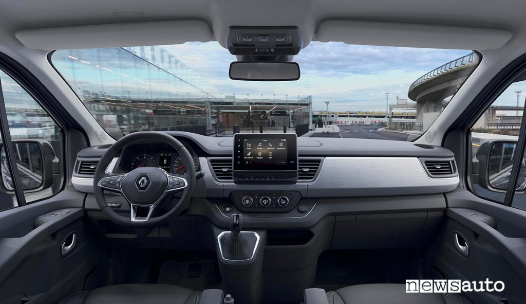 Plancia del Nuovo Renault Trafic SpaceClass 2021