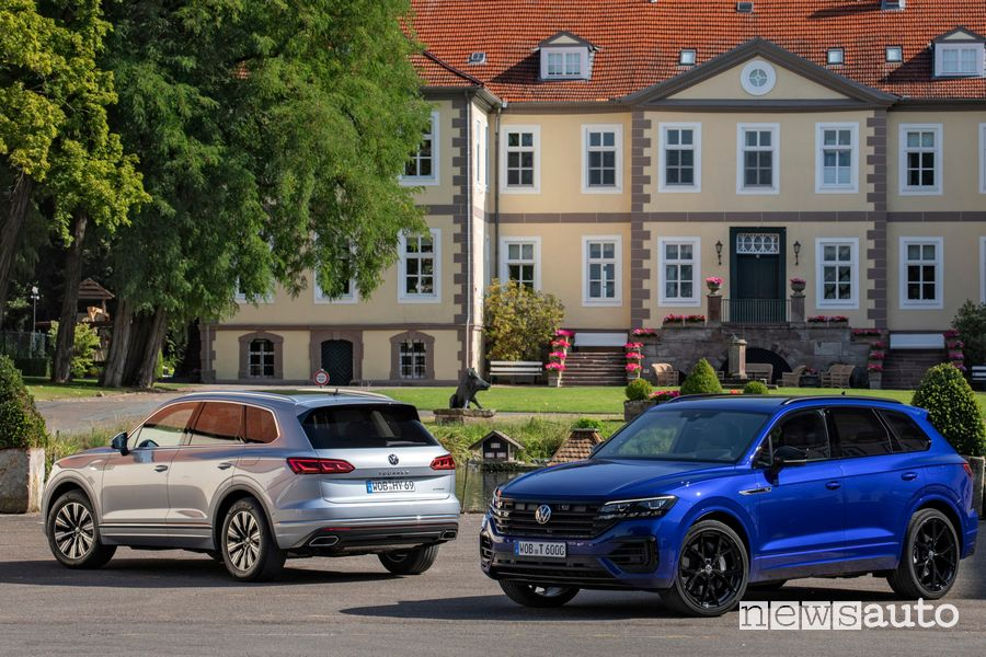 Volkswagen Touareg eHybrid e Touareg R