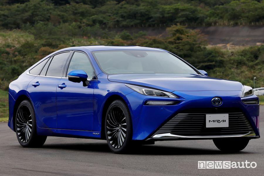 Auto ad idrogeno, nuova Toyota Mirai