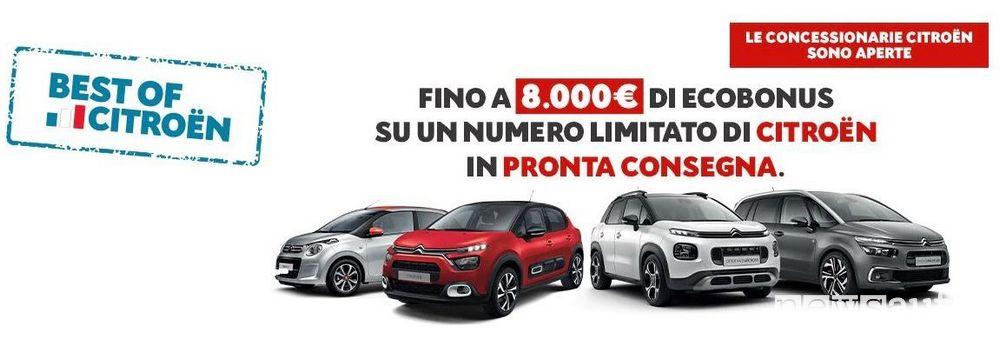 Locandina iniziativa Best of Citroën