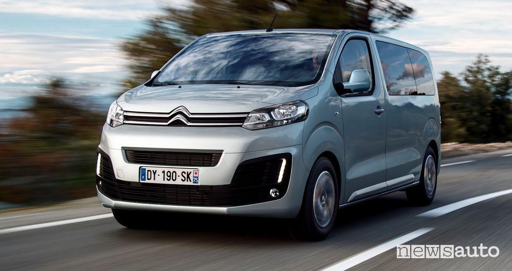 Citroën SpaceTourer arriva il nuovo motore 2.0 BlueHDi 140 S&S