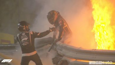 Photo of F1 Gp Bahrain, incidente per Grosjean e monoposto F1 in fiamme