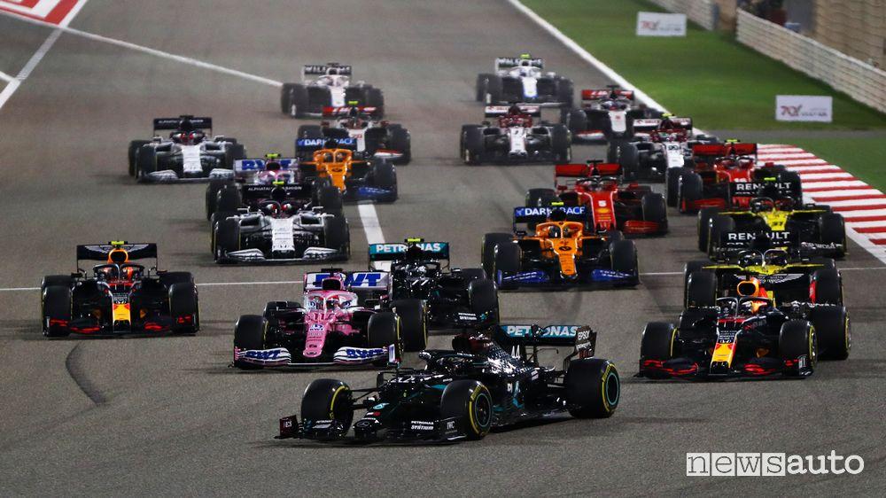 F1 Gp Bahrain 2020, vittoria per Hamilton