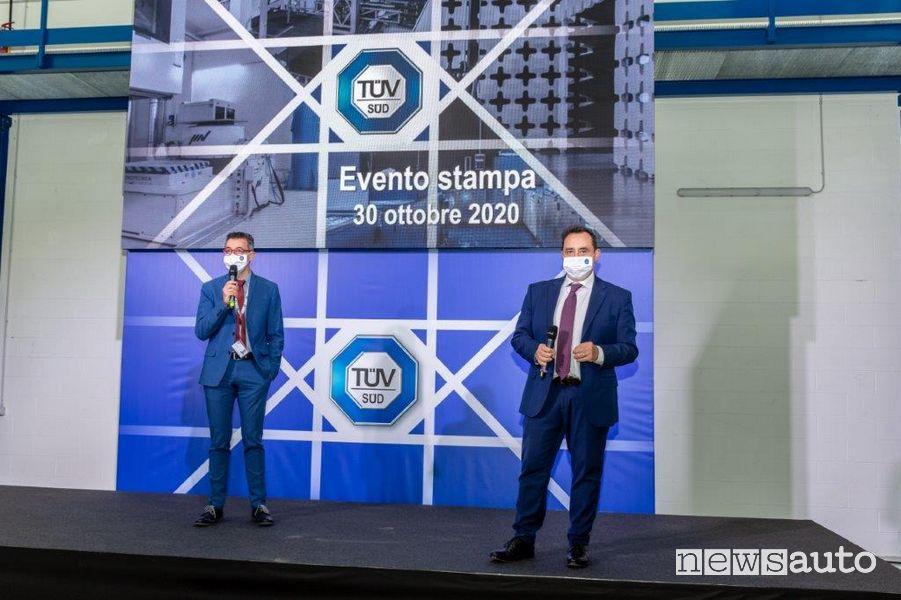 Axel Stepken e Oliver Jacob TÜV Italia