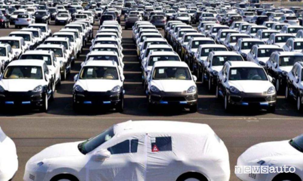 Auto vendute in Europa febbraio 2021