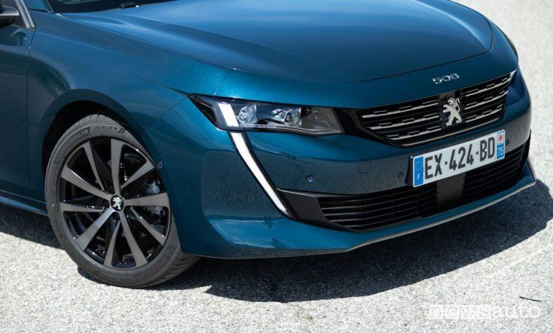 Peugeot 508, nuova gamma, allestimenti e prezzi