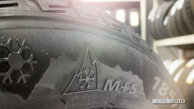Photo of Pneumatici M+S, marcatura fiocco di neve, quando circolare