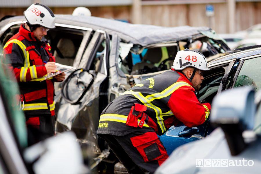 Addestramento ai soccorsi in caso di incidente grave